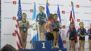 1er lugar All Around Nivel 2 (6-7años)