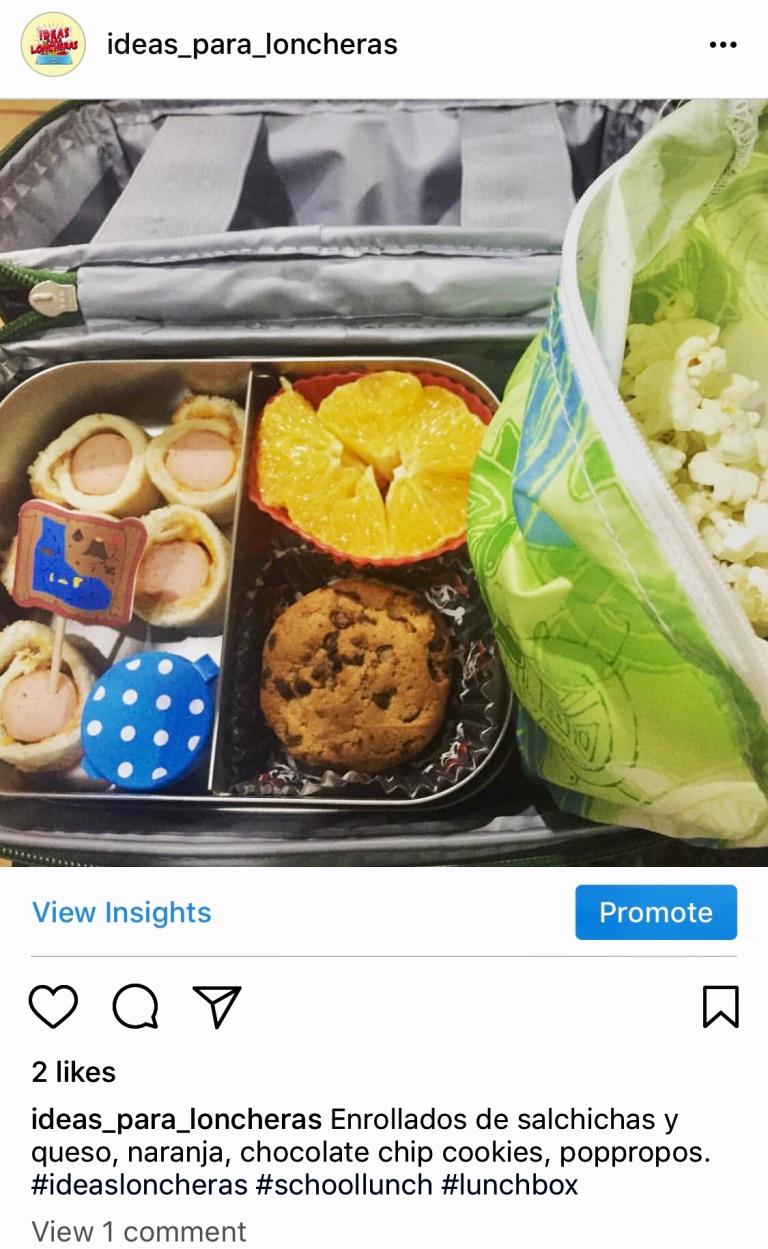 Primera publicación en Instagram